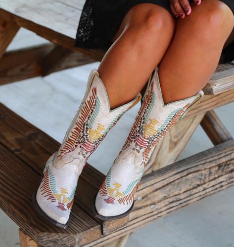 Old Gringo Harper Milk Boots L2971-2 Front