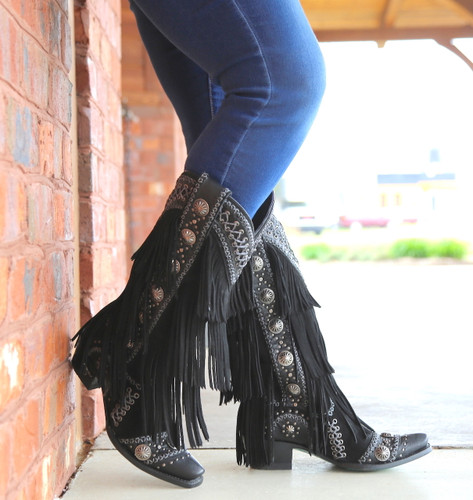Lane Wind Walker Black Boots LB0378B Photo