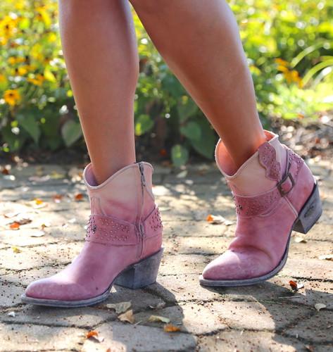 Miss Macie Fine-N-Dandy Pink Boots U8000-03 Image