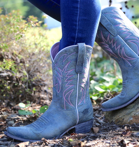 Junk Gypsy by Lane Dirt Road Dreamer Grey/Blue Boots JG0003G Image