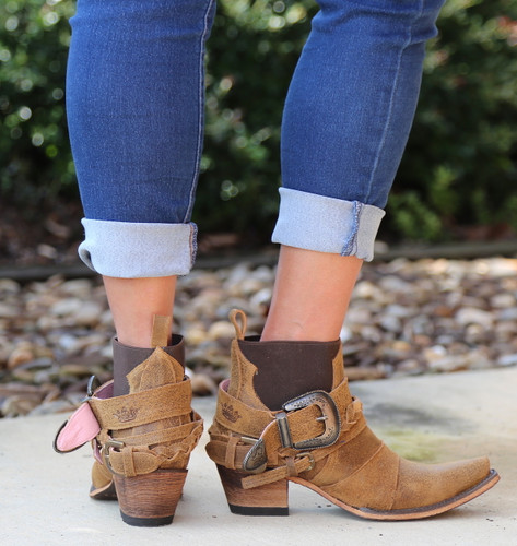 Junk Gypsy By Lane Hwy 237 Boots JG0026E Heel