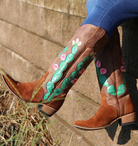 Junk Gypsy by Lane Hard to Handle Rust Boots JG0012A Photo