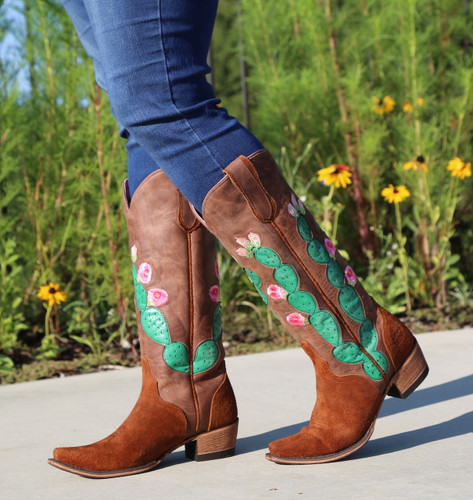 Junk Gypsy by Lane Hard to Handle Rust Boots JG0012A Walk