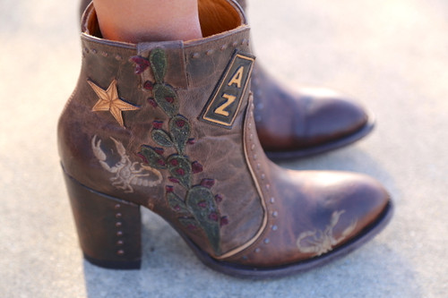 Old Gringo Galena Rust Boots BL3086-1 Star