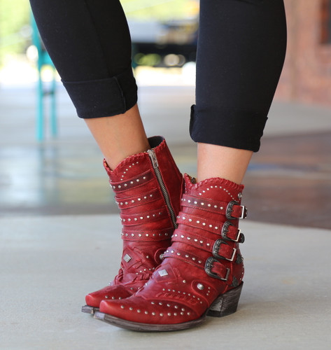 Old Gringo Jaylene Red Boots BL3099-2 Image