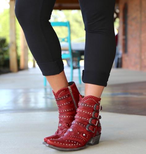 Old Gringo Jaylene Red Boots BL3099-2 Front