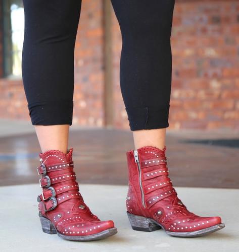 Old Gringo Jaylene Red Boots BL3099-2 Photo