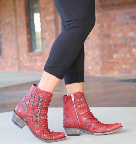 Old Gringo Jaylene Red Boots BL3099-2 Walk