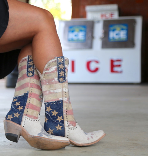 Yippee Ki Yay by Old Gringo Jorie Taupe Boots YL339-1 Photo