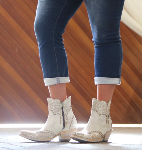 Old Gringo Erin Short Taupe Boots BL3084-2 Picture