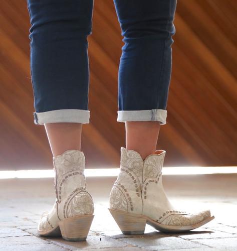 Old Gringo Erin Short Taupe Boots BL3084-2 Heel