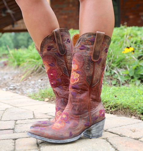 Old Gringo Pansy Mango Boots Sintino L2621-6 Photo