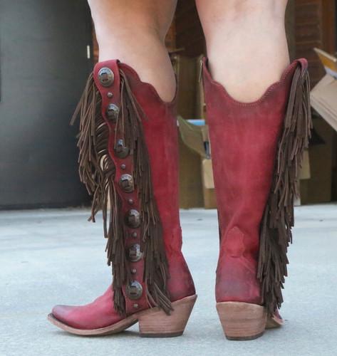 Liberty Black Ophelia Rojo Boots LB712953 Heel