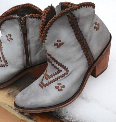 Liberty Black Aztec Zipper Boot Gray LB712376 Detail