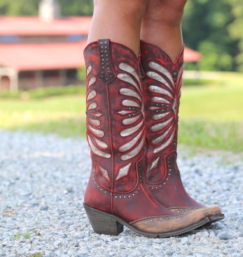 Liberty Black Tall Vintage Rojo Boots LB711510 Photo