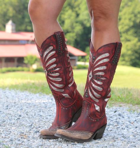 Liberty Black Tall Vintage Rojo Boots LB711510 Picture