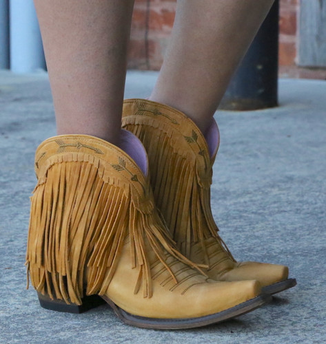 Junk Gypsy by Lane Spitfire Mustard Boots JG0007I Picture