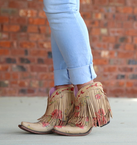 Junk Gypsy by Lane Spitfire Floral Boots JG0007J Photo