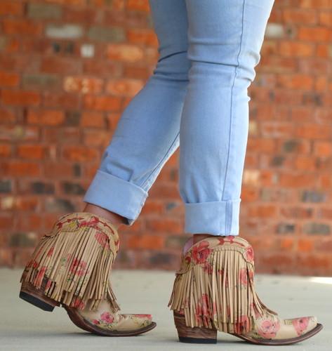 Junk Gypsy by Lane Spitfire Floral Boots JG0007J Walk