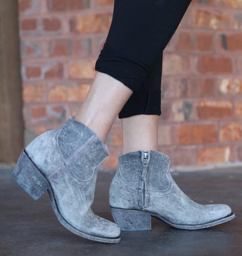 Miss Macie On My Way Grey Boots U7009-02 Walk