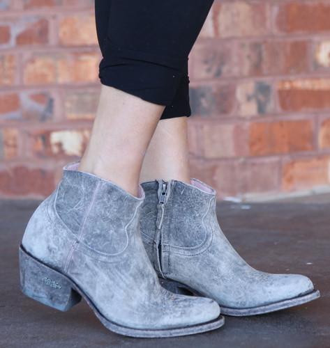 Miss Macie On My Way Grey Boots U7009-02 Image