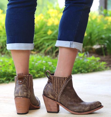 Liberty Black Grieta Cafe Boots LB712360 Heel