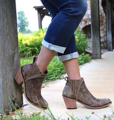 Liberty Black Grieta Cafe Boots LB712360 Toe