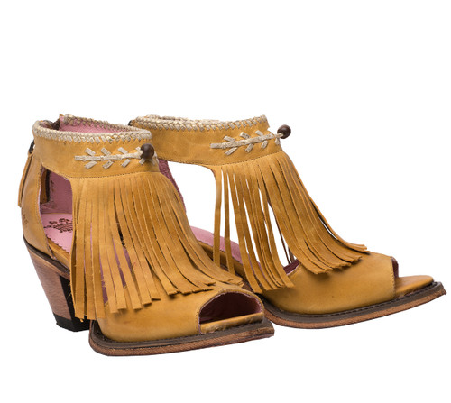 Junk Gypsy by Lane Archer Mustard Booties JG0018G Picture