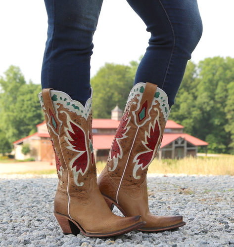 Junk Gypsy by Lane Day Dreamer Tan Boots JG0029B Picture