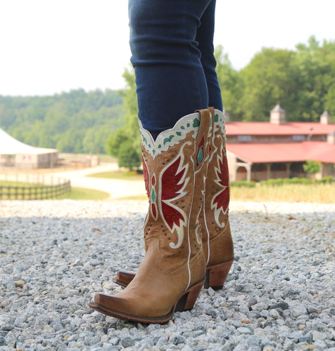 Junk Gypsy by Lane Day Dreamer Tan Boots JG0029B Photo