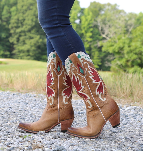 Junk Gypsy by Lane Day Dreamer Tan Boots JG0029B Image