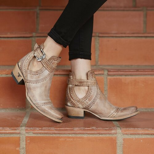 Lane Cahoots Dusty Tan  Buckle Booties LB0393A Picture
