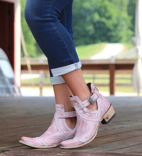 Lane Cahoots Blush Ankle Boot LB0393E Picture