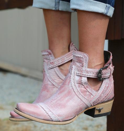 Lane Cahoots Blush Ankle Boot LB0393E Image