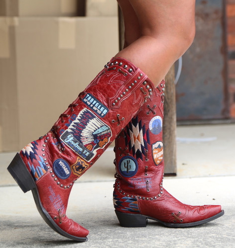Double D by Old Gringo Escalante Red Boots DDL044-1 Image