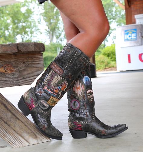Double D by Old Gringo Escalante Black Boots DDL044-2 Picture