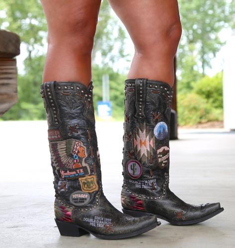 Double D by Old Gringo Escalante Black Boots DDL044-2 Photo