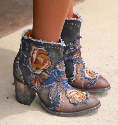 Old Gringo Carla Short Saddle Boots BL3184-2 Photo