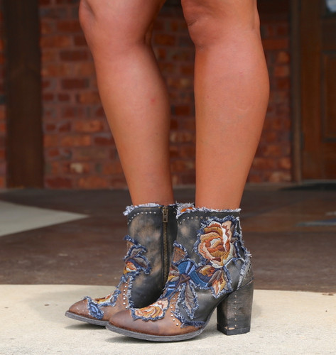 Old Gringo Carla Short Saddle Boots BL3184-2 Picture