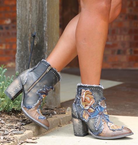 Old Gringo Carla Short Saddle Boots BL3184-2 Image