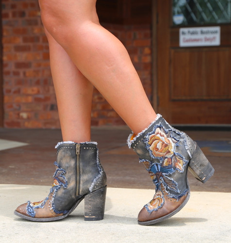 Old Gringo Carla Short Saddle Boots BL3184-2 Walk