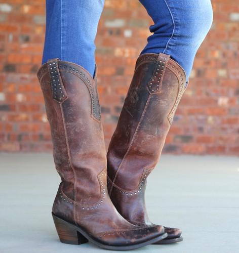 Liberty Black Tall Keeper Miel Boots LB71166 Picture