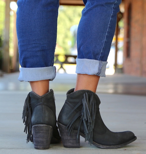 Liberty Black Vegas Negro Booties LB712320 Heel