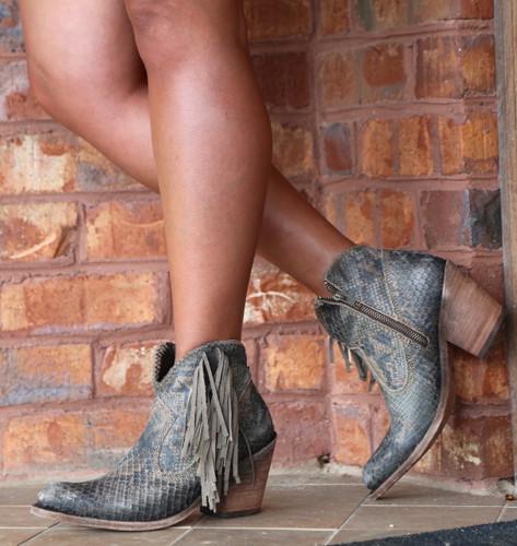 Liberty Black Python Verde Boots LB712320 Picture