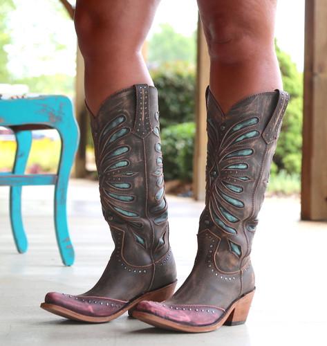 Liberty Black Tall Vintage Canela Boots LB711510 Photo