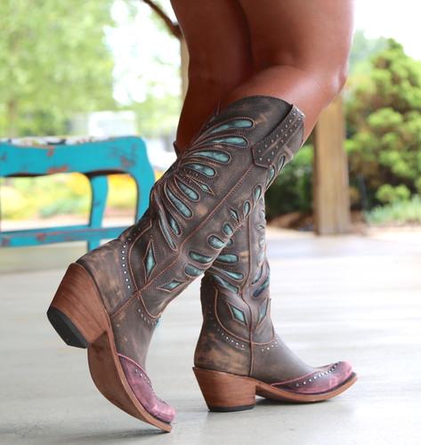 Liberty Black Tall Vintage Canela Boots LB711510 Walk