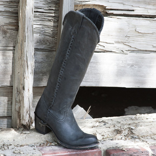 Lane Plain Jane Black Boots LB0350E Picture