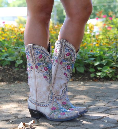 Lane Chloe Dusty Tan Boots LB0418B Image