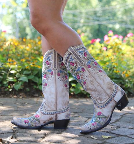 Lane Chloe Dusty Tan Boots LB0418B Walk