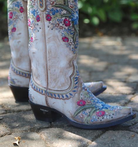 Lane Chloe Dusty Tan Boots LB0418B Toe